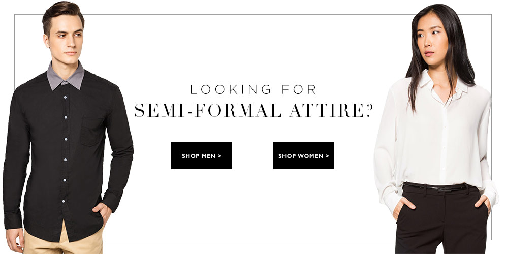 Buy Semi Formal Attire For Men U0026 Women | ZALORA Philippines
